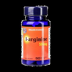 L-аргинин 500мг